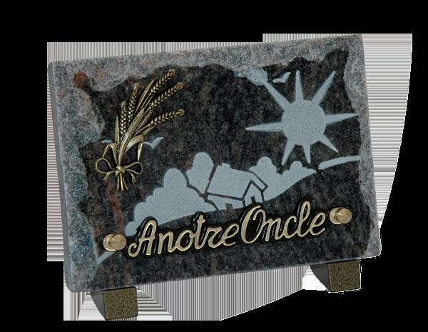 Modèles de plaques pour rendre hommage