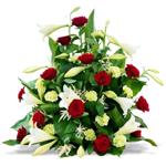 composition de fleurs