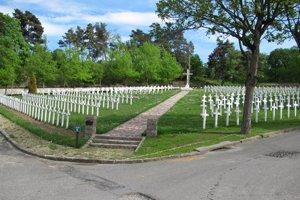 un cimetière de guerre