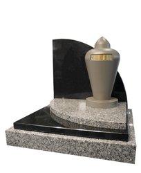 urnes int gr es une pierre tombale. Black Bedroom Furniture Sets. Home Design Ideas