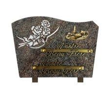 Plaques funéraires gravées - D11610097C-PAR-VIL