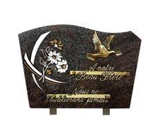 Plaques funéraires gravées - D11610337C