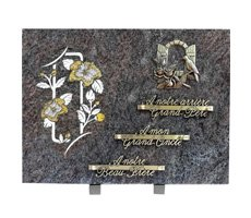 Plaques funéraires gravées - D11610777C-PAR-FEN