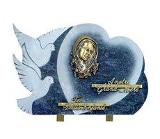 Plaques funéraire religieux - D11611247R