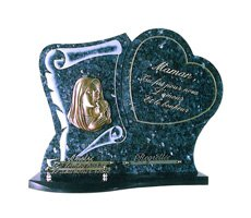 Plaques funéraire religieux - D11611251R
