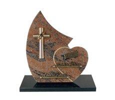 Plaques funéraire religieux - D11611281R