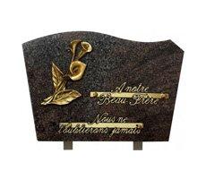Plaques funéraires classiques - D11618477C-HIB-ARU