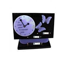 Plaque funéraire en plexiglass - G077OPPARME