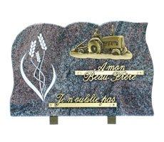 Plaque funéraires à thème - HOCH-13557-HIB