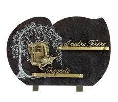 Plaque funéraires à thème - HOCH-136007-MBL