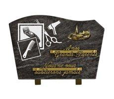 Plaque funéraires à thème - HOCH-138837-MBL