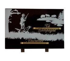 Plaque funéraires à thème - HOCH-139477-NBF