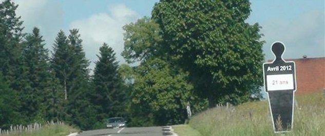 memorial bord de route