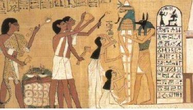 rite funeraire egyptien